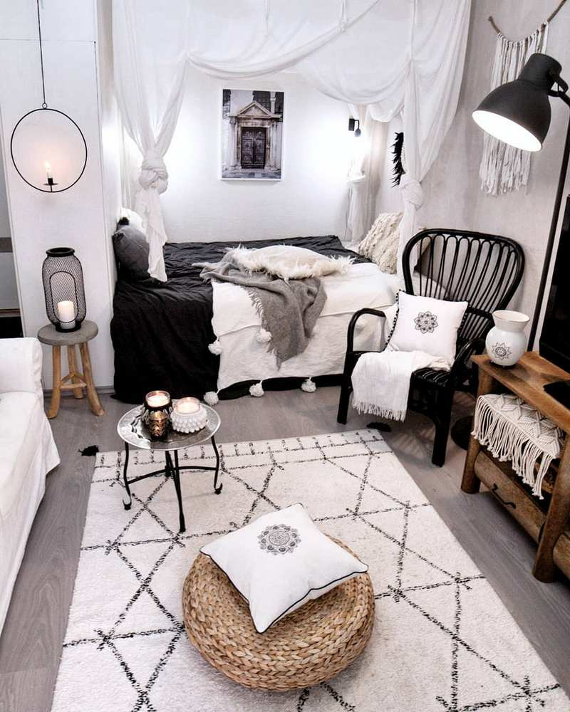 bohemian home decor ideas (62)