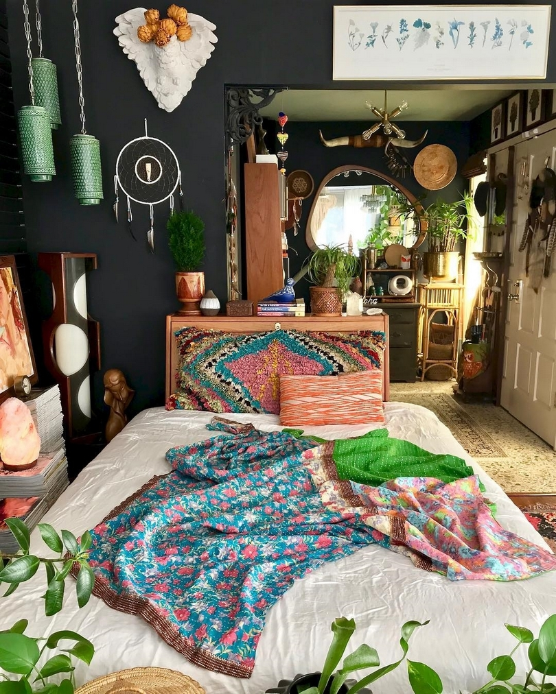Bohemian Style Beds (40)