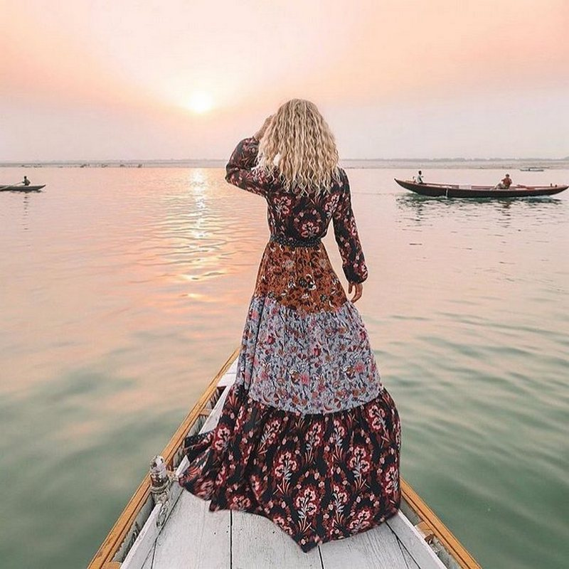 Bohemian Style Dresses (23)