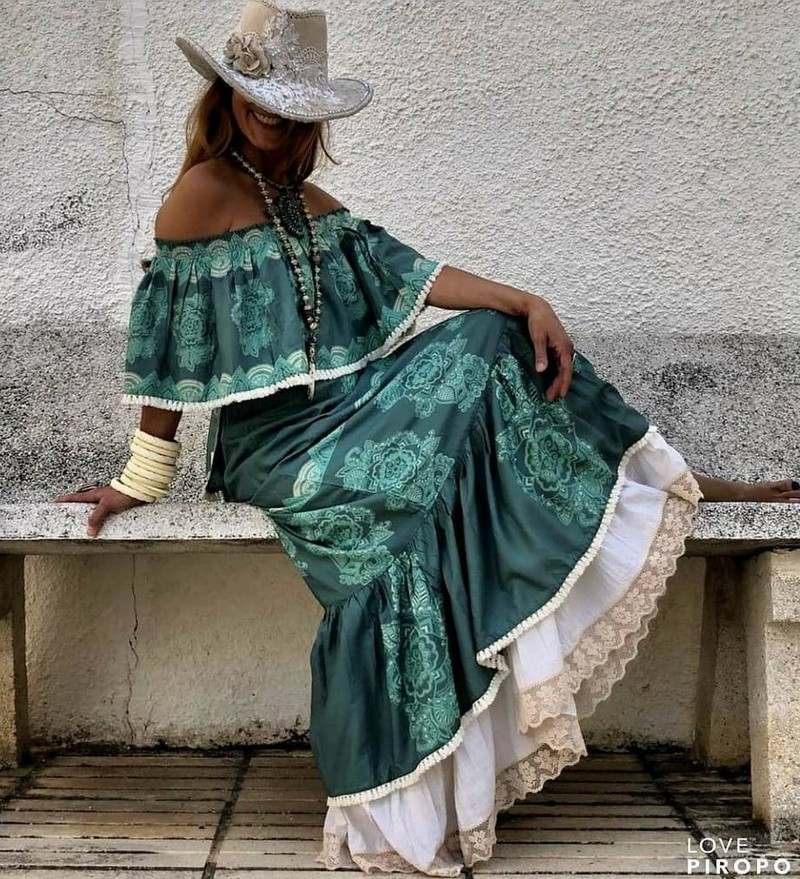 Bohemian Style Dresses (3)