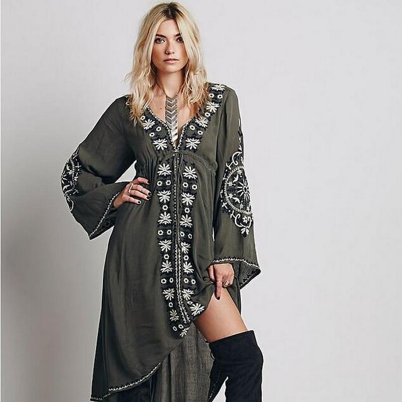 Bohemian Style Dresses (54)