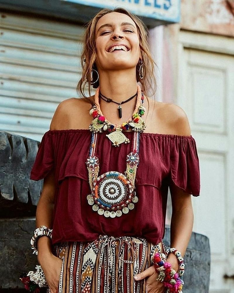 Bohemian Style Dresses (55)