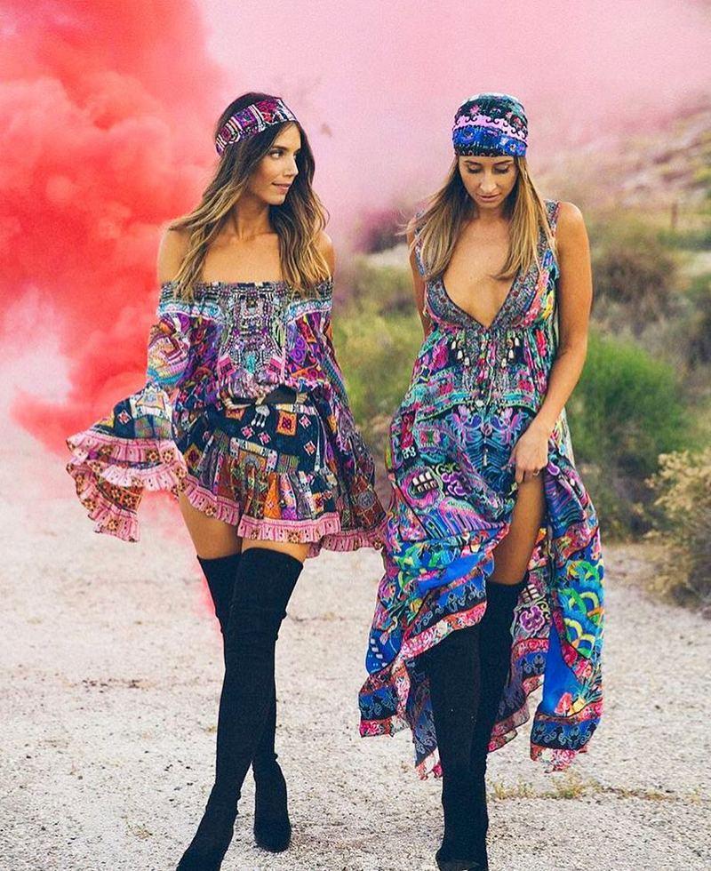 Bohemian Style Dresses (7)
