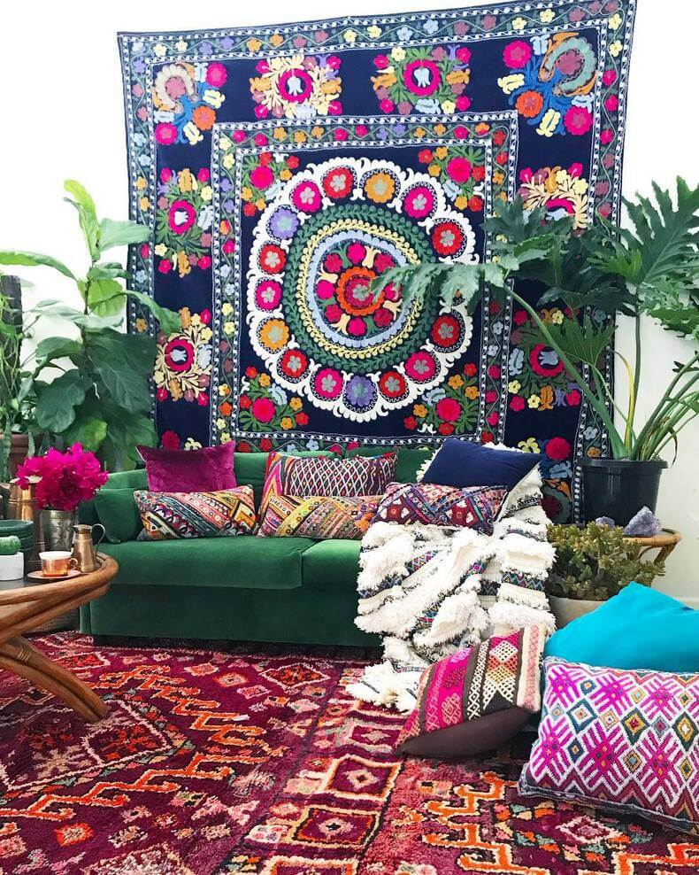 Bohemian Decorating Ideas (22)