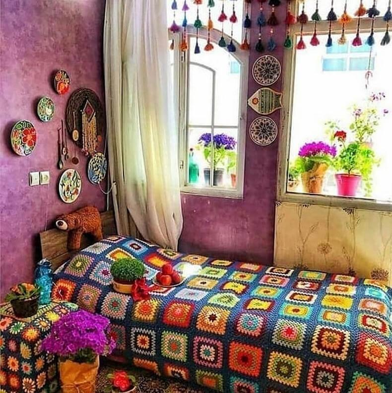Bohemian Decorating Ideas (27)