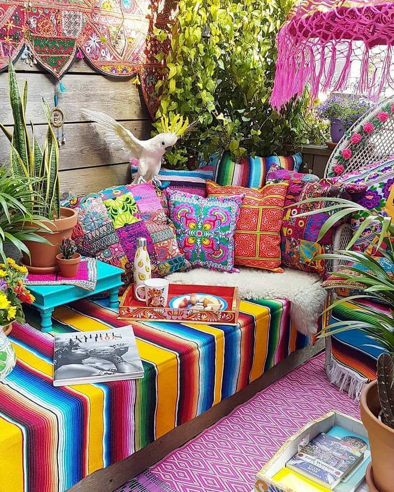 Bohemian Decorating Ideas (3)