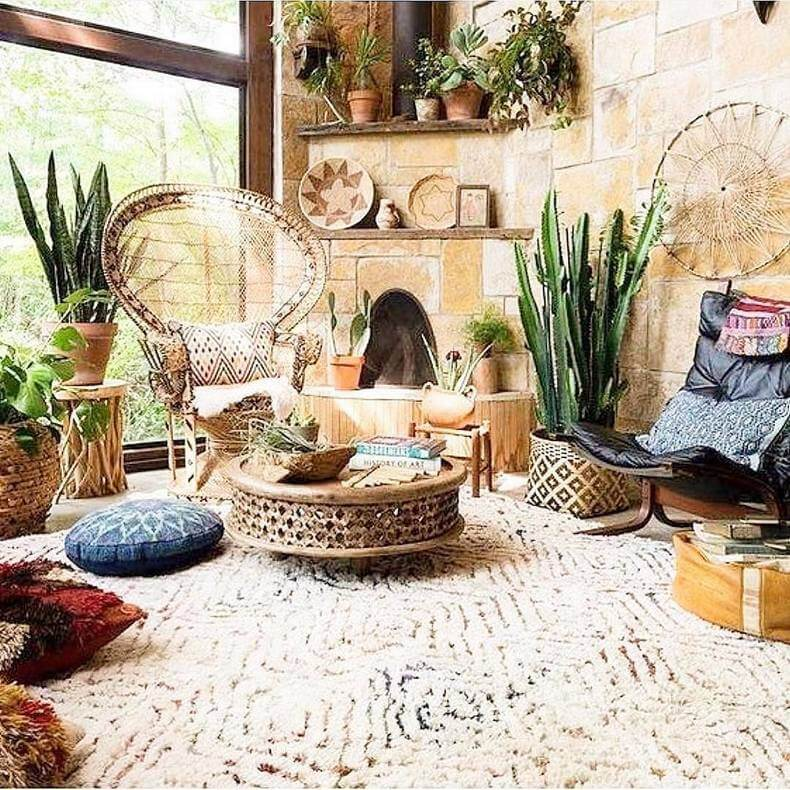 Bohemian Decorating Ideas (40)