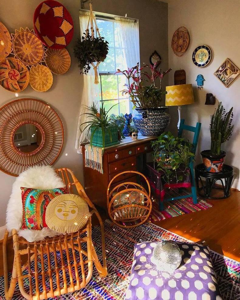 Bohemian Decorating Ideas (45)