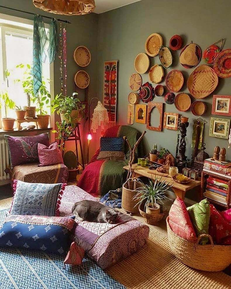 Bohemian Decorating Ideas (47)