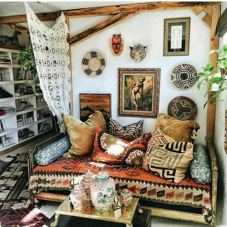 Bohemian Decorating Ideas (5)