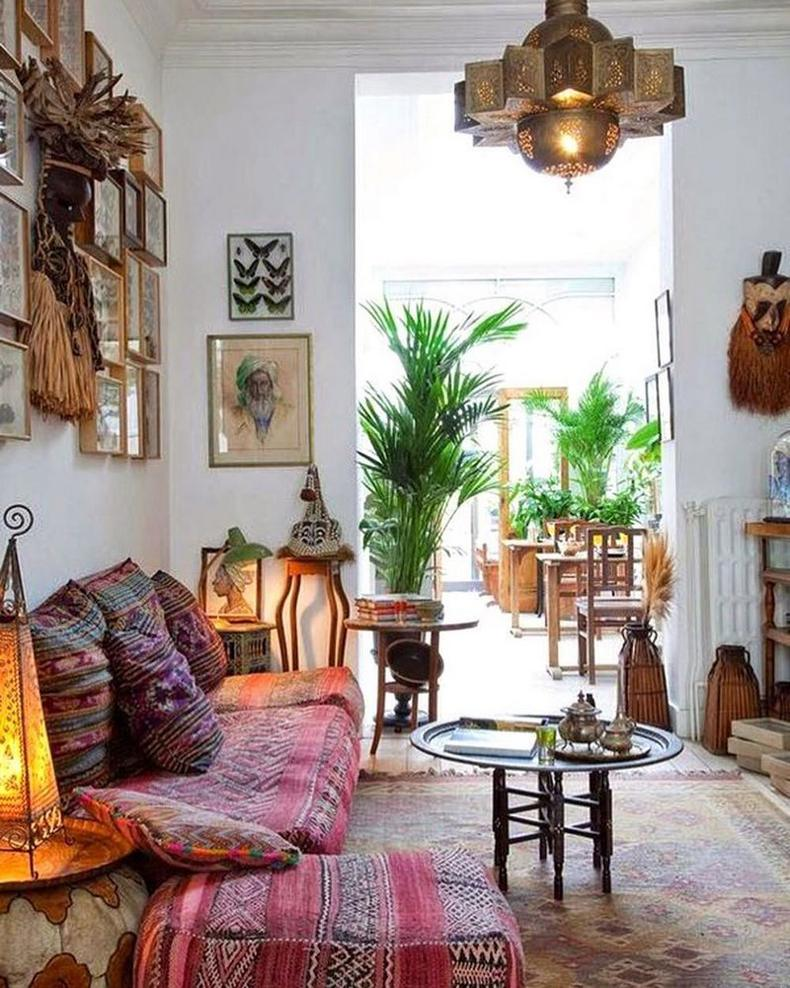 Bohemian Decorating Ideas (53)