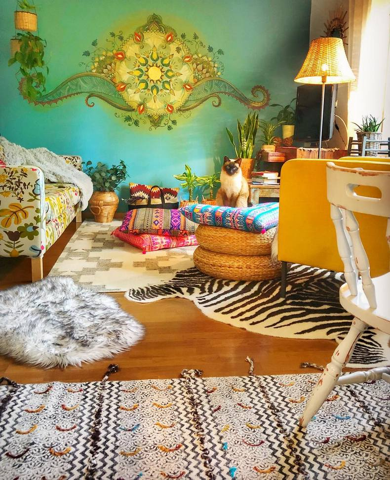 Bohemian Decorating Ideas (60)