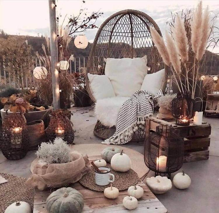 bohemian style outdoor and garden (1)