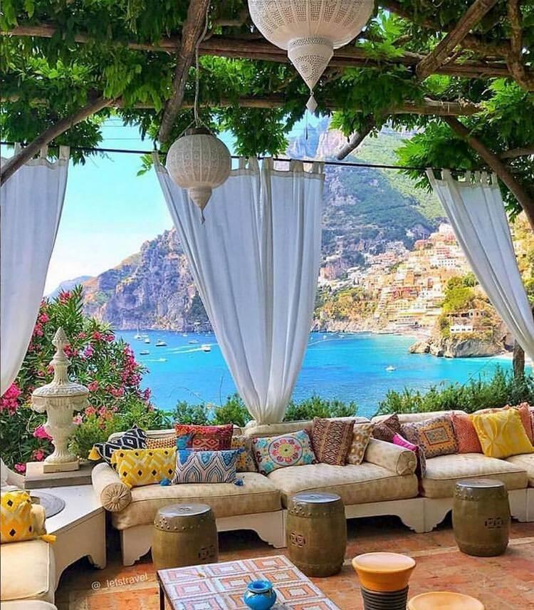 bohemian style outdoor and garden (14)