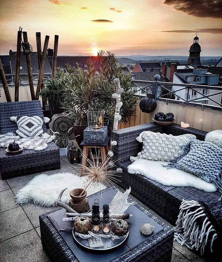 bohemian style outdoor and garden (3)