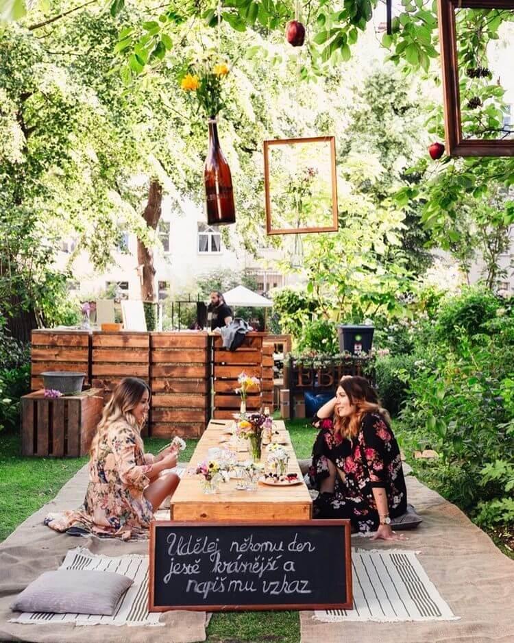 bohemian style outdoor and garden (33)