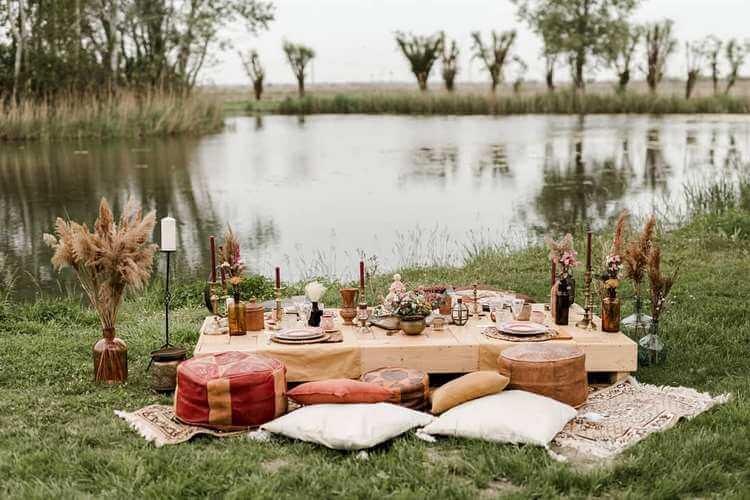 bohemian style outdoor and garden (37)
