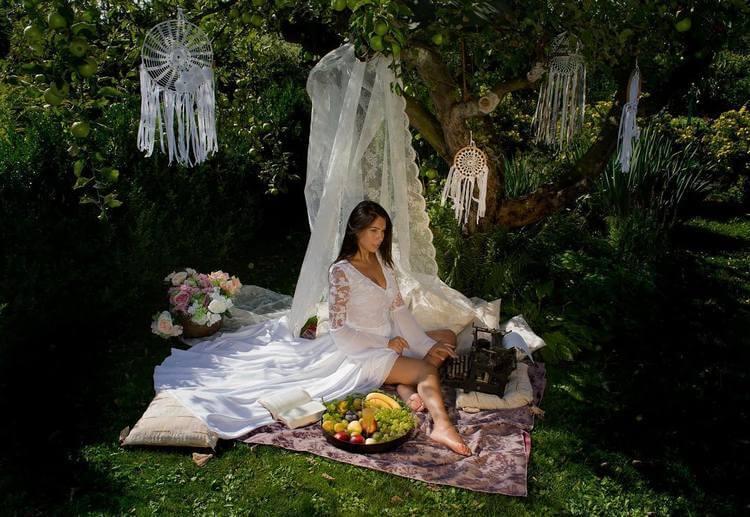 bohemian style outdoor and garden (38)