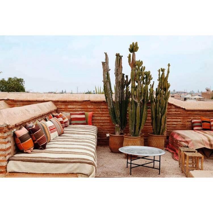 bohemian style outdoor and garden (39)