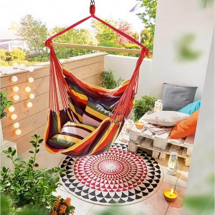 bohemian style outdoor and garden (4)