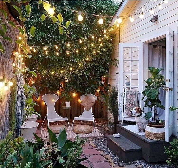 bohemian style outdoor and garden (41)