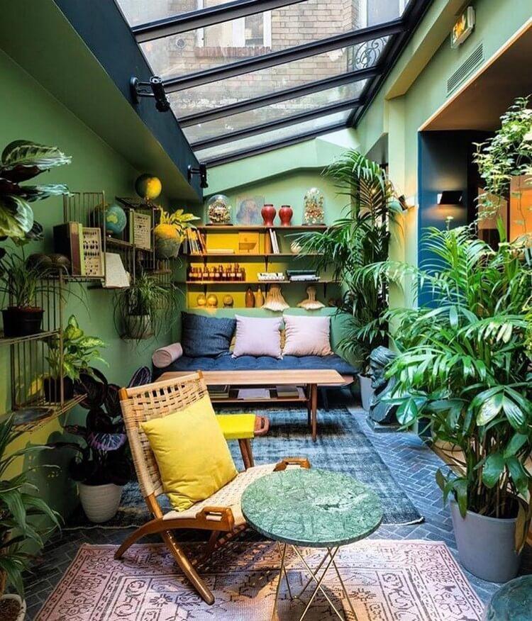 bohemian style outdoor and garden (46)