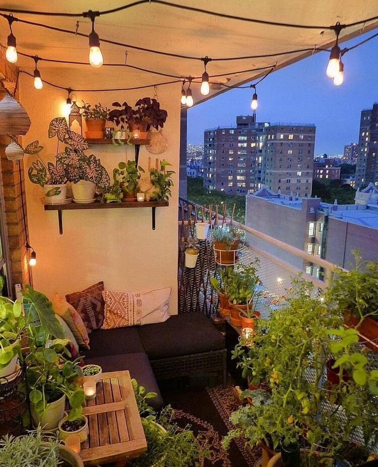 bohemian style outdoor and garden (51)