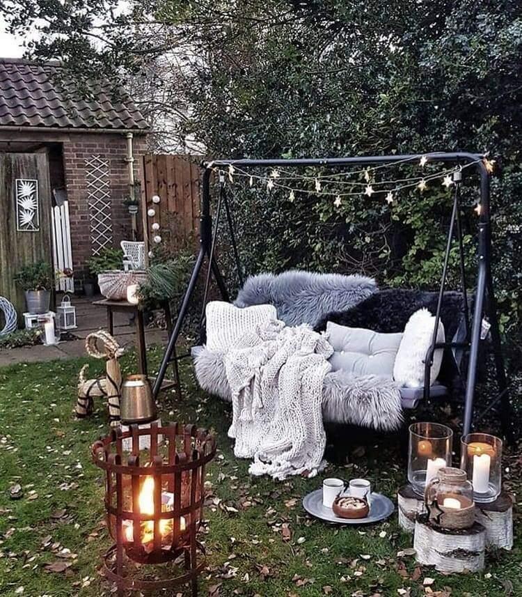 bohemian style outdoor and garden (55)