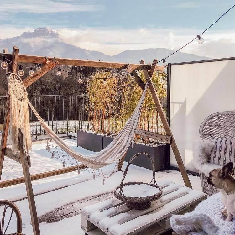 bohemian style outdoor and garden (56)